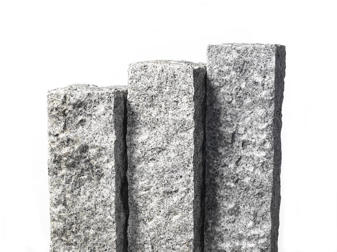 Granitt blokk & kantstein