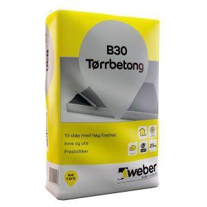 Weber B30 tørrbetong - 25kg