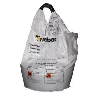 Tørrbetong, Weber B20, 1000kg sekk