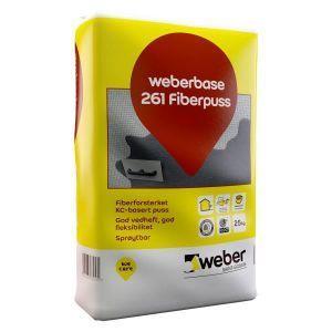 Weber Base 261 fiberpuss, 25 kg