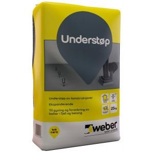 Weber Understøp - 25 kg
