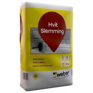 Weber Hvit Slemming 20kg