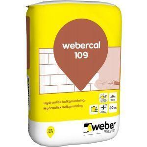 Webercal 109 Hydraulisk kalkgrunning 20 kg