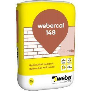 Webercal 148 Hydraulisk kalkmørtel, 20 kg