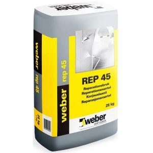 Weber REP45 Reparasjonsmørtel 25kg