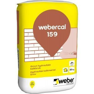 Webercal 159 UF Hydraulisk kalkmørtel Grov 20 kg