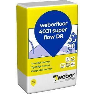 Weberfloor 4031 SuperFlow DR 20 kg
