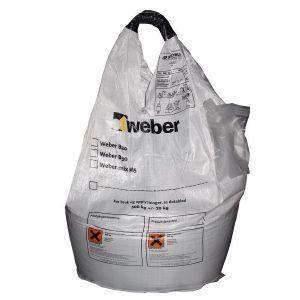 Weber Tørrbetong, Fasthetsklasse B35, M45 Grov, 1000 kg storsekk