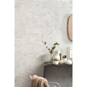 Baderomspanel, Fibo 2273-M6060 S White Marble, 11 x 620 x 2400 mm