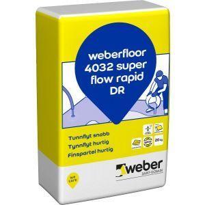Weberfloor 4032 SuperFlow Rapid DR 20 kg