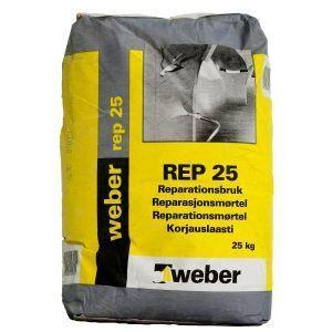 Weber Rep 25 Reparasjonsmørtel 25 kg
