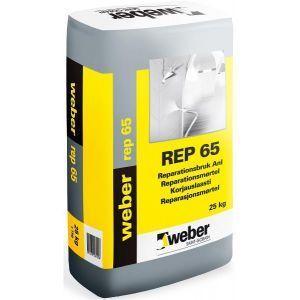 Weber REP65 Reparasjonsmørtel 25kg