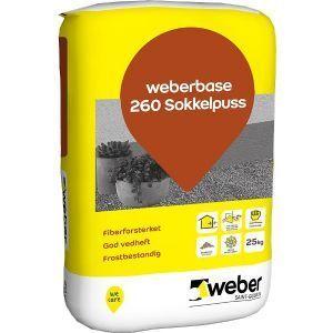 Weber base 260 Sokkelpuss, 25kg