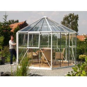 Veksthus / Drivhus, Hera 9000 alu m/glass, 9 m2, Vitavia