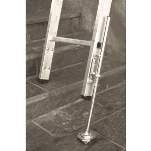 Forlengerben for stige, m/ ispigg, regulerbart, 400mm