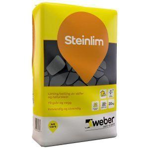 Weber Steinlim,for liming av skifer og naturstein, 20 kg