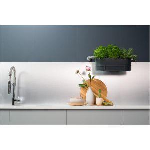 Kjøkkenplate, Fibo 5003-K00 Steel, 11 x 620 x 580 mm**