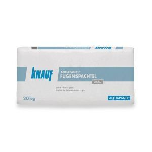 Sparkelmasse, Grå, 20 kg, for bl.a. Aquapanel Outdoor sementplater