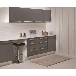 Kjøkkenplate, Fibo 4091-KM99 SL White Slate, 11 x 620 x 580 mm