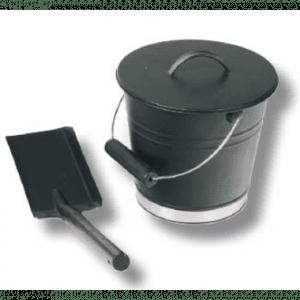 Askebøtte m/lokk og skuffe