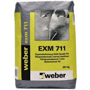 Weber EXM 711 Understøp Fin Antifrost - 25 kg