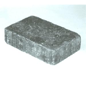 Rådhus belegningsstein, 5 cm, 1/1 stein, Grå. Fra Aaltvedt