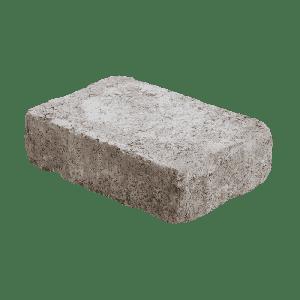 Rådhus belegningsstein, 5 cm tykkelse, 1/1 stein, Brunmix, fra Aaltvedt