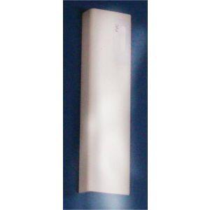 L-profil PVC 110 hvit, 2400 mm