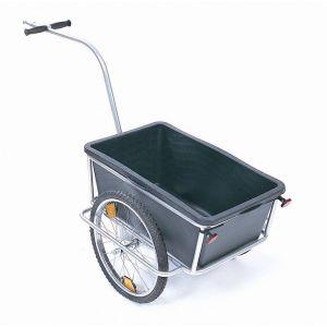 Vare- og sykkeltralle, Jonex, med åpen kasse, kapasitet 100 kg