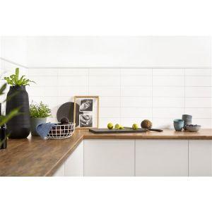 Kjøkkenplate, Fibo 3091 - HG Denver White