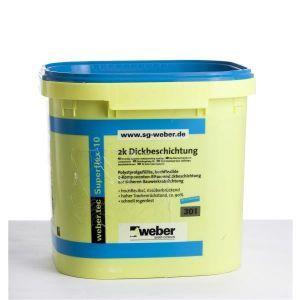 Webertec Bitumenbasert Superflex 10, 30 liter 22,89 kg