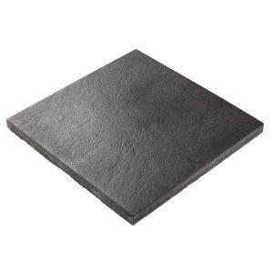Helle, Lava AC, 60 x 60 x 4 cm, sort antrasitt, fra Asak