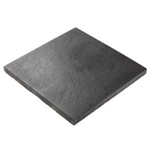 Helle, Lava AC, 40 x 40 x 4 cm, sort antrasitt, fra Asak