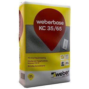 Weber.base KC 35/65 - 25kg
