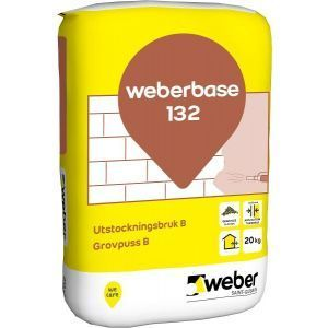 Weberbase 132 Grovpuss B 20 kg