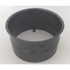 Helmin - Murstuss (Ø160mm) for Ø150 mm rør, Blånet