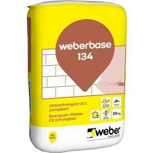 Weberbase 134 Grovpuss C 20 kg