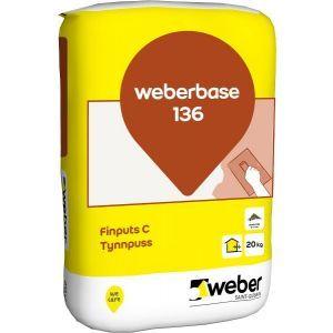 Weberbase 136 Tynnpuss 20 kg