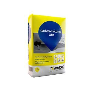 Weber Gulvavretting Ute  20 kg