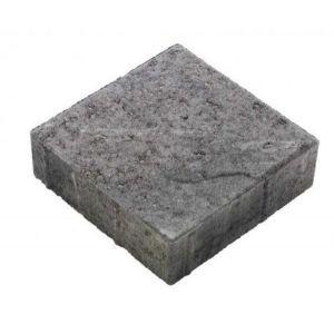 Asak - Relieff kvadrat XL, 20x20x6, Gråmix