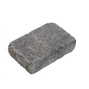 Herregårdstein, 1/1 stein, 20 x 13,5 x 5 cm, Gråmix. Fra Asak