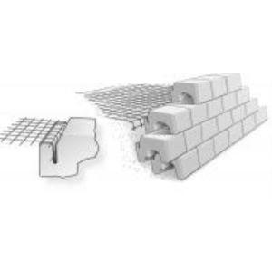 Asak - Jordarmeringsnett for støttemur E'Grid R-50, 1,3x25m