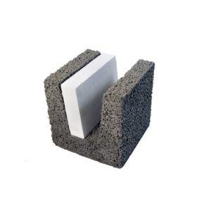 Leca® Iso U-blokk, 25 cm LSX