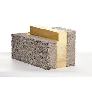 Leca® Ringmursblokk, innvendig hjørne, 25 cm
