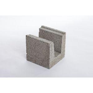 Leca® Basic U-blokk 25 cm LSX