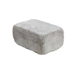 Rådhus mur / kantstein / endeblokk, 1/1 stein, Gråmix - Aaltvedt