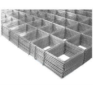 Armeringsnett i stål, str. 80 x 120 cm