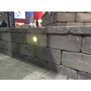 Kjerneboring av støttemur / mur til lys