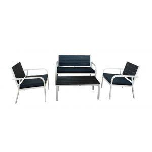 Braga Sofagruppe, 2+1+1+bord, sittegruppe for 4 personer