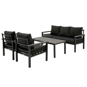 Brest Sofagruppe charcoal grå